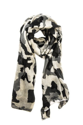 Abstract Camo in Gray