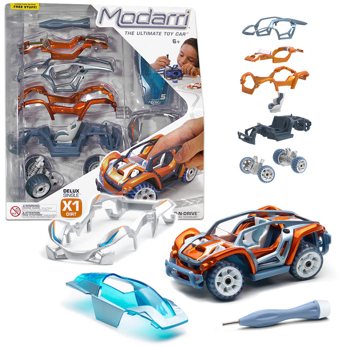 Modarri Delux X1 Dirt Car Set