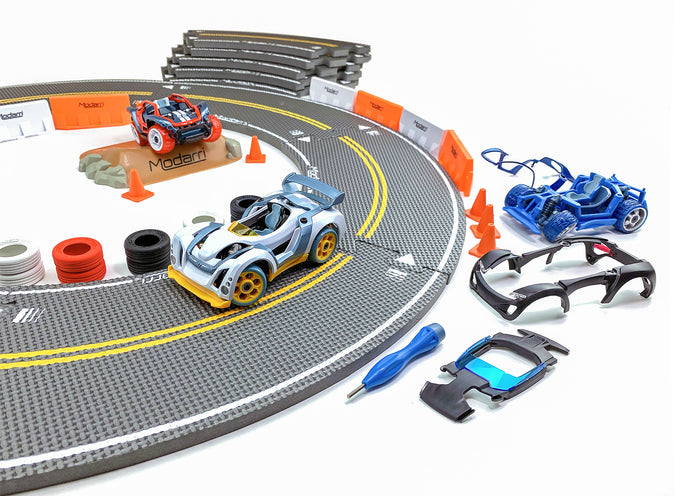 Modarri 3-Pack Pro Racing Bundle (Figure-8 Track)
