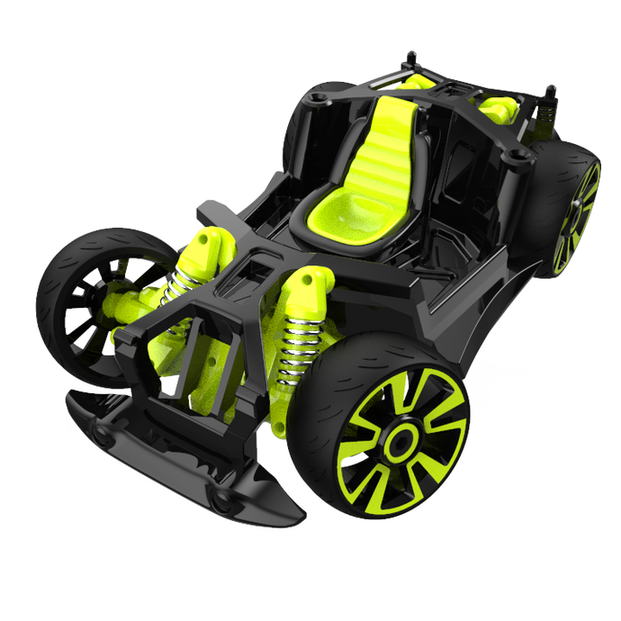 Chassis and Wheels - S2 - Black / Green