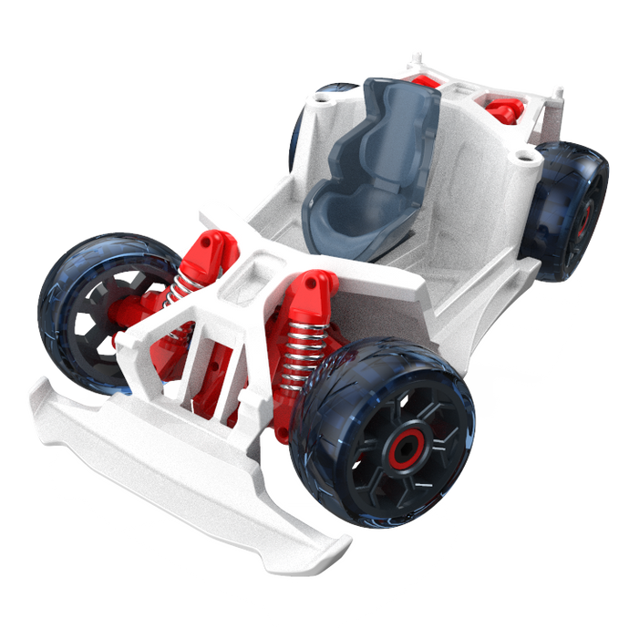 Chassis and Wheels - T1 - White