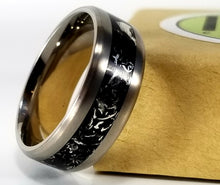 Load image into Gallery viewer, IPI Creations Carbon Capture Ring - Wide Band