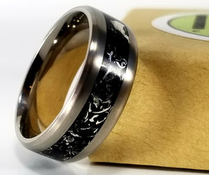 IPI Creations Carbon Capture Ring - Wide Band
