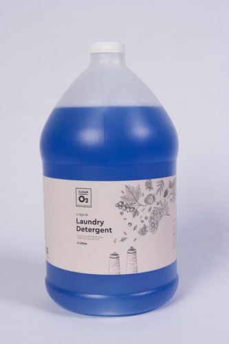 CleanO2 Liquid Laundry Detergent