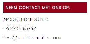 """Northern Rules"""