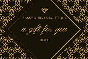 Sassy Kurves Boutique Gift Card