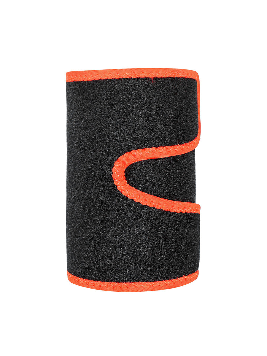 Orange 2Pcs Neoprene Arm Trimmers With Pockets
