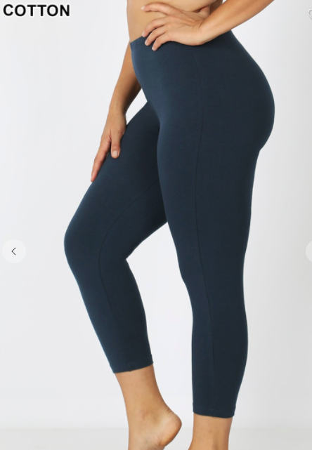 SASSY CAPRI LEGGINGS Midnight Navy