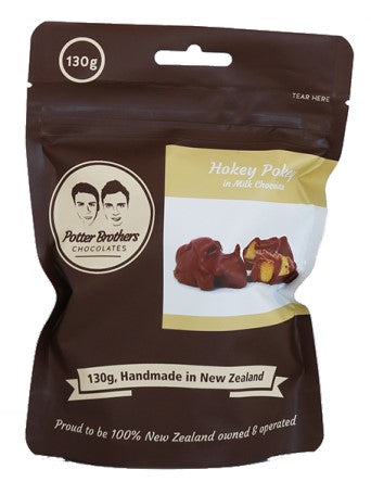 Hokey Pokey in Milk Chocolate 130g