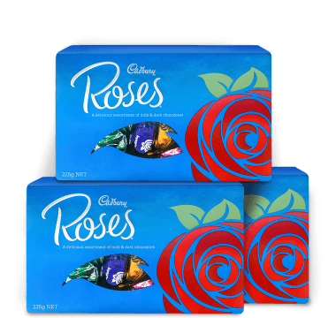 Cadbury Roses Chocolates 225g
