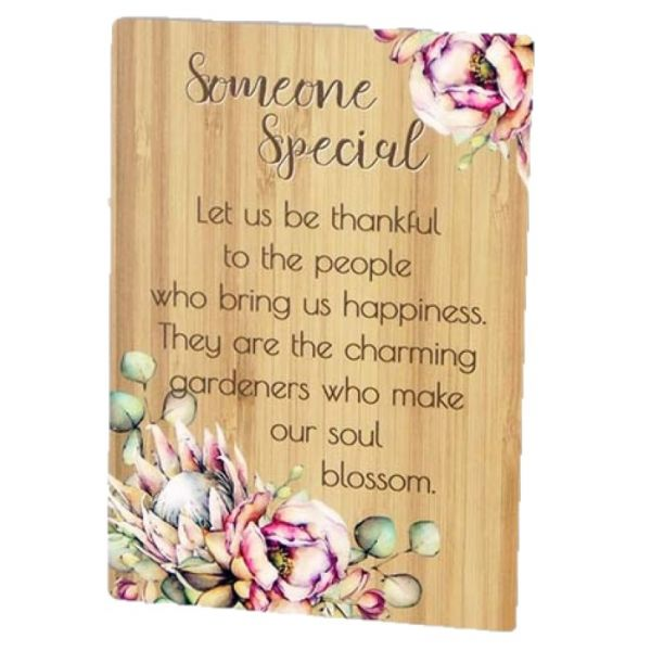 Bunch of Joy Sentiment Plaque - Mum, Aunty, Family, Friends, Someone Special, Daughter, Dreams, Angel