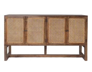 Beechmont Rattan 4 Door Buffet Mead
