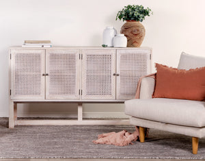 Beechmont Rattan 4 Door Buffet