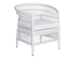 Bilinga Arm Chair White