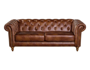 Chesterfield Pu  Sofa 2 Seater
