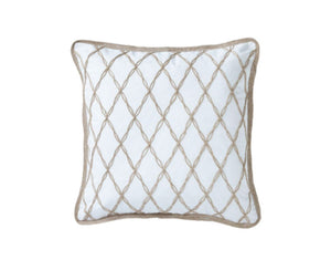 Mykonos Lattice Cushion