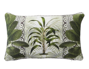 Leafy Chic Cushion - Rectangle