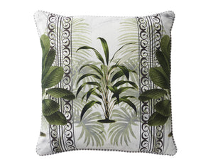 Leafy Chic Cushion - Square