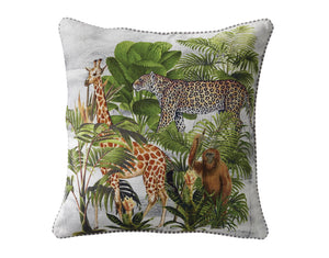 Jungle Safari Cushion - Square