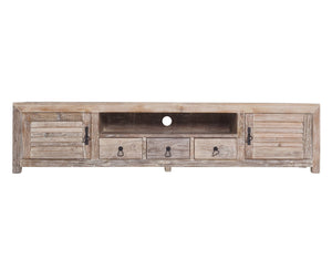 Daintree Tv Cabinet  Old White Wash