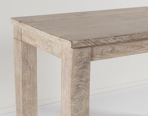 Daintree Bar Table  Old White Wash