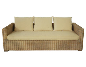 Daintree Cane 3 Seater Lounge
