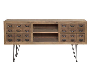Loft Filing Drawers Buffet