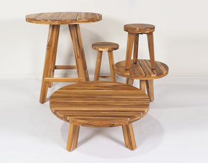 Fraser Teak Lamp Table