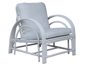 Hamilton White Arm Chair
