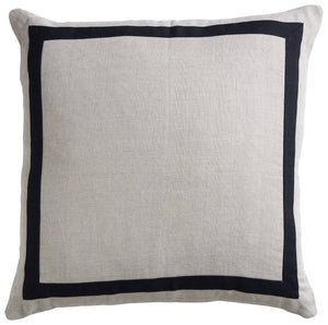 Linen Florence Cushion - Sand