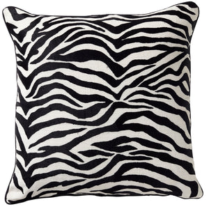 Zebra Luxe Cushion