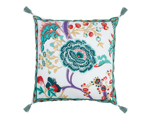 Leau Hand Blocked Cushion