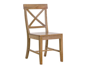 Monaco Cross Back Dining Chair