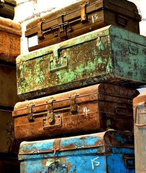 Recycled Trunks