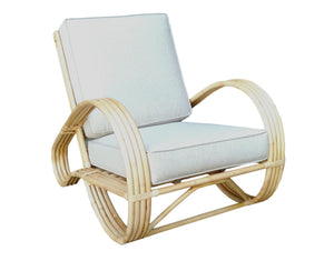 Pretzel Arm Chair