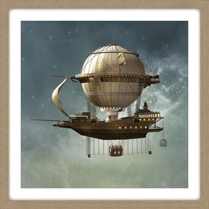 Whimsical Pirate Ship
