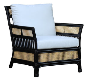 Rivers Arm Chair Black / Natural