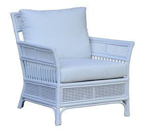 Rivers Arm Chair White