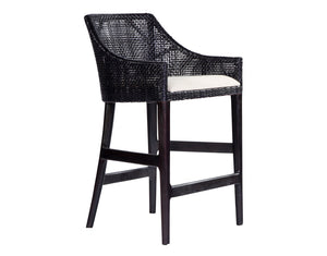 Sarabah Black Counter Stool