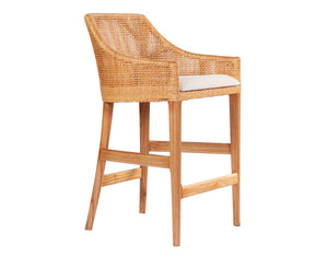 Sarabah Natural Counter Stool