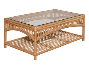 Valley Glass Top Coffee Table