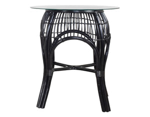 Bistro Round Valley Patio Table Black