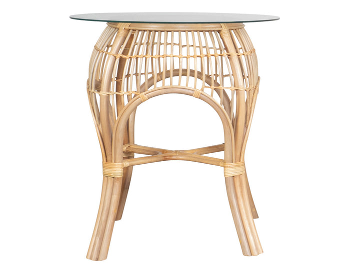 Bistro Round Valley Patio Table Natural