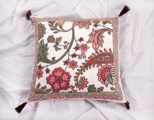 Vino Hand Blocked Cushion