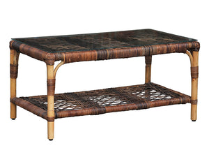 Willow Glass Top Coffee Table
