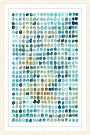 Ocean Squares Water Colour