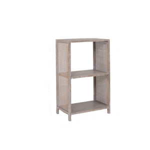 Coast 2 Hole Cube Shelf White Wash