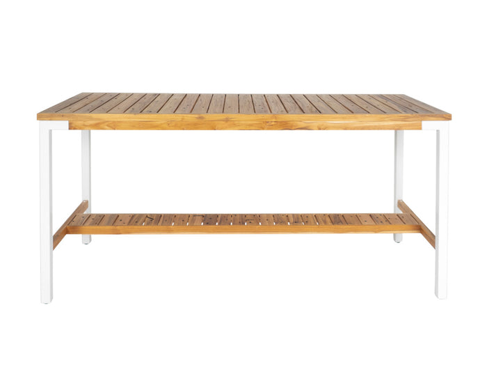 Broadbeach Teak Bar Table