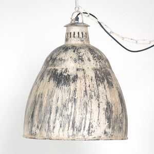 Vintage Industrial Pendant Light - Large