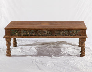 Hand Carved Rosewood Coffee Table